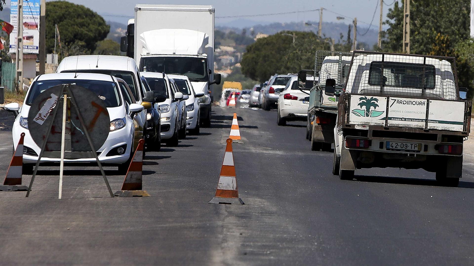 Acidente de viação provoca corte ao quilómetro 73 da Estrada Nacional 125