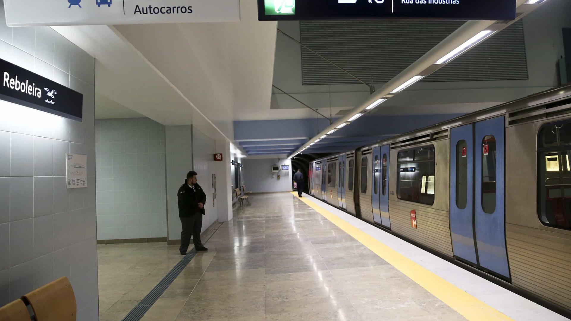Trabalhadores do Metro de Lisboa em greve paralisam transporte até às 10h