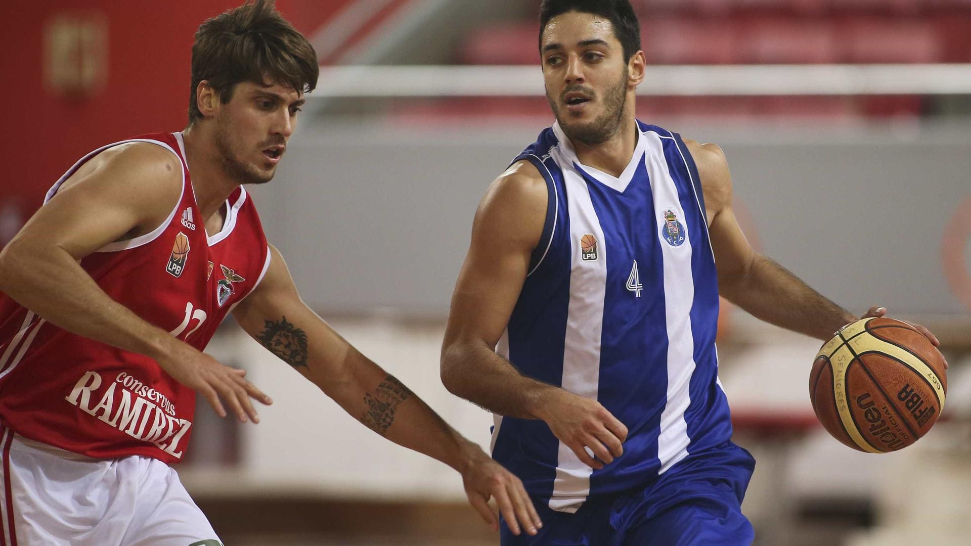 f3f99581dc Benfica empata final da Liga de basquetebol ao vencer FC Porto