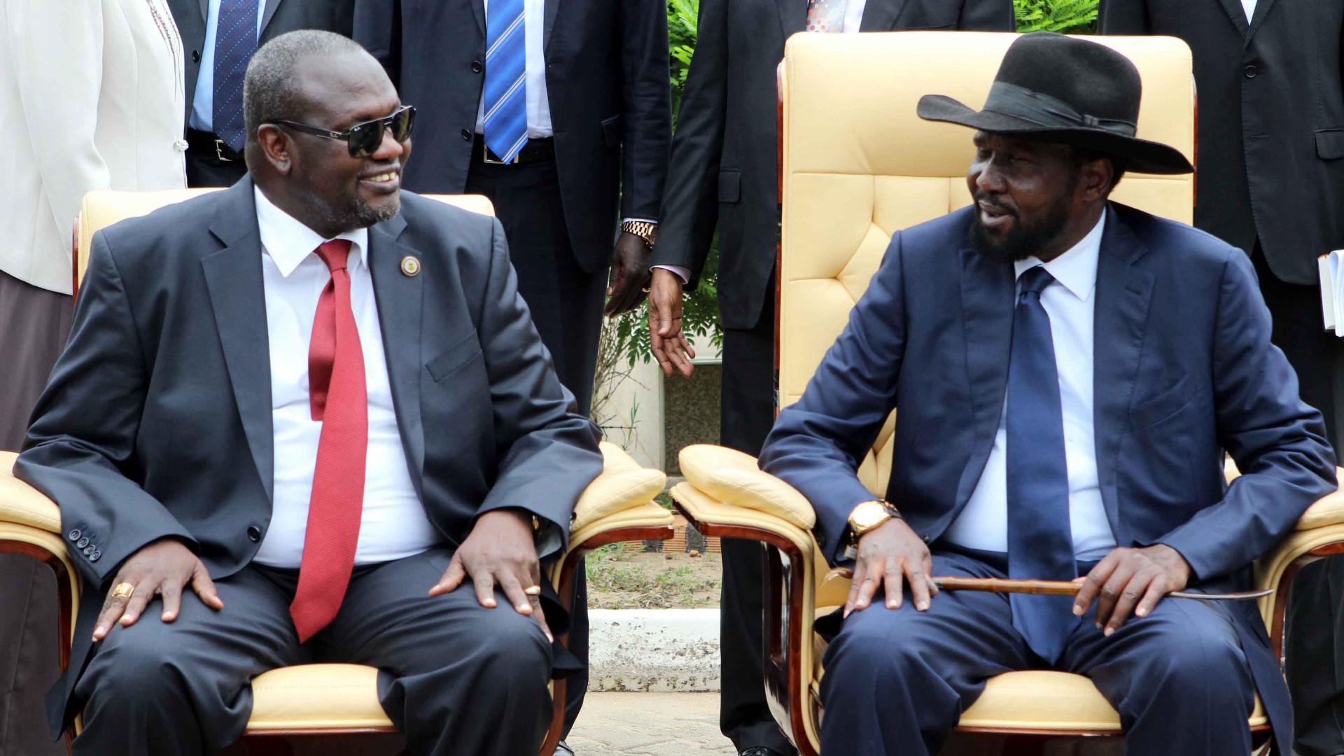 Oposição armada do Sudão do Sul rejeita 'imposição' de paz