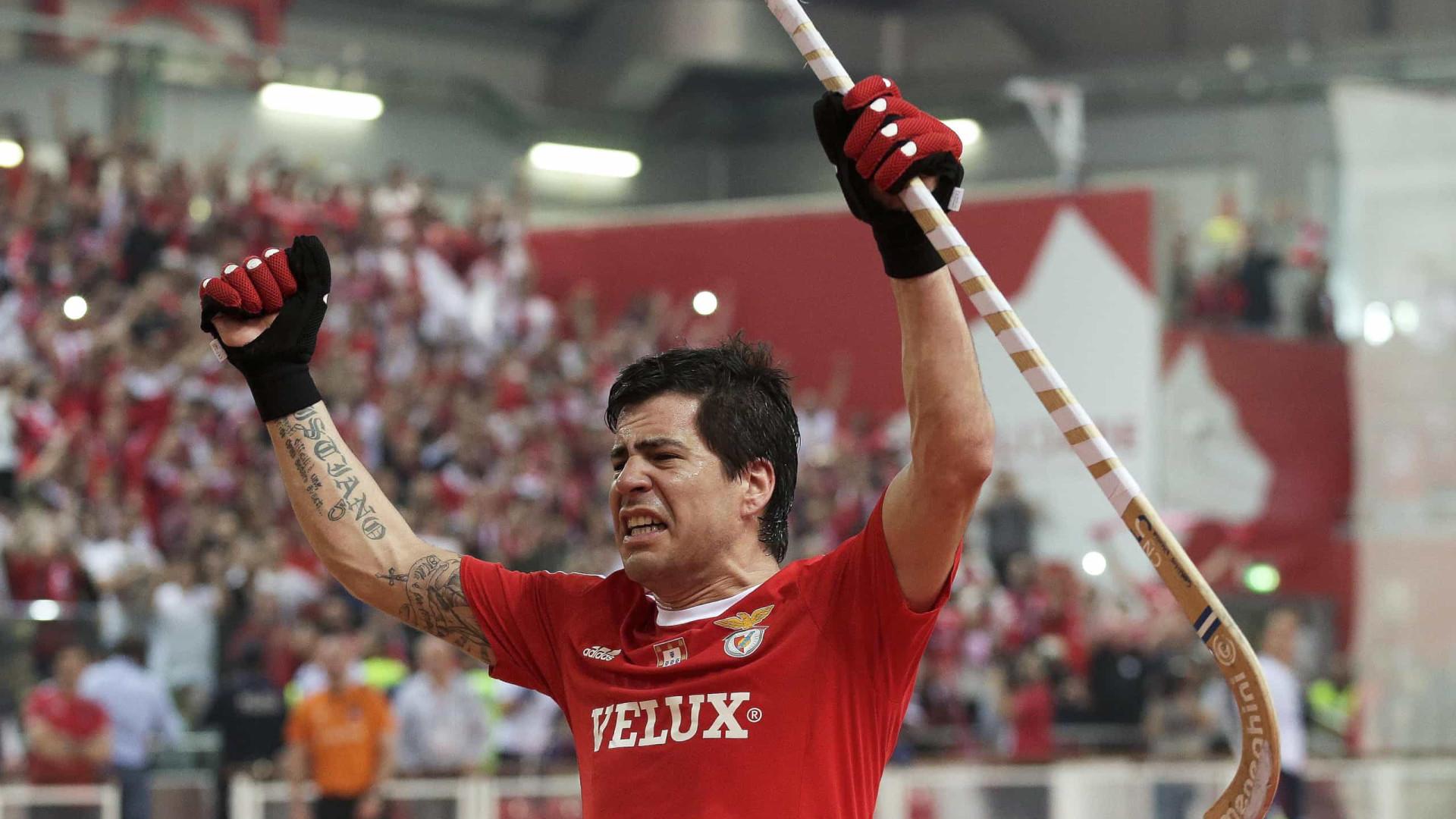 Argentino Carlos Nicolía renova com hóquei em patins do Benfica