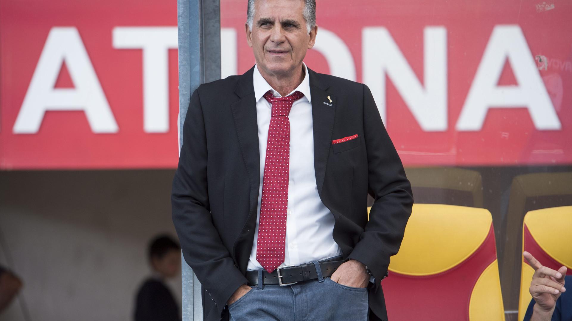 Carlos Queiroz evita falar sobre Lopetegui e diz que vitória é essencial