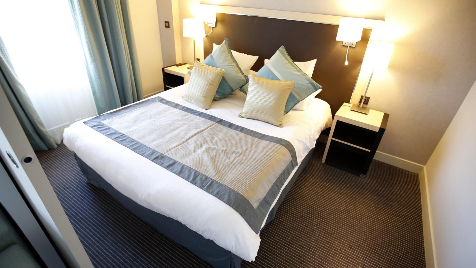 Taxa de ocupação dos hotéis até abril desce para 59%
