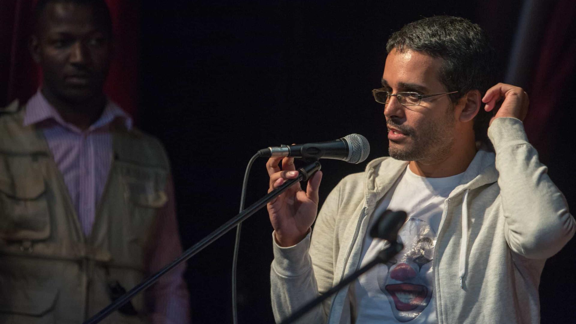 """Luaty Beirão diz que dia da votação foi """"mais tranquilo"""" do que o de 2012"""