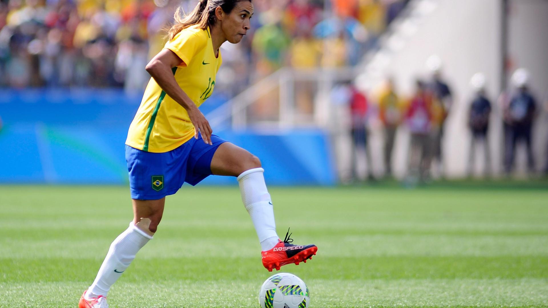 Brasileira Marta nomeada para a ONU na luta pela igualdade de género