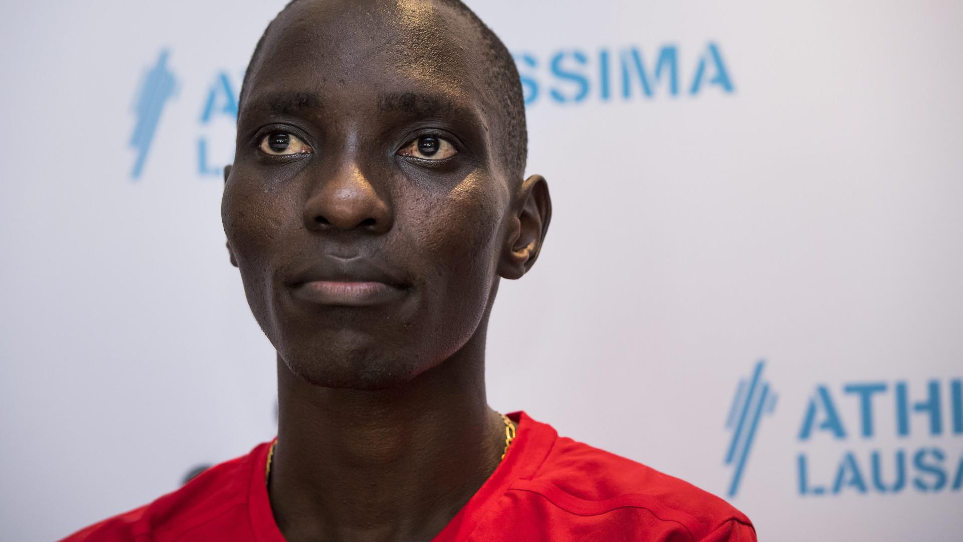 Kiprop reitera inocência em caso de doping mas desiste de se defender