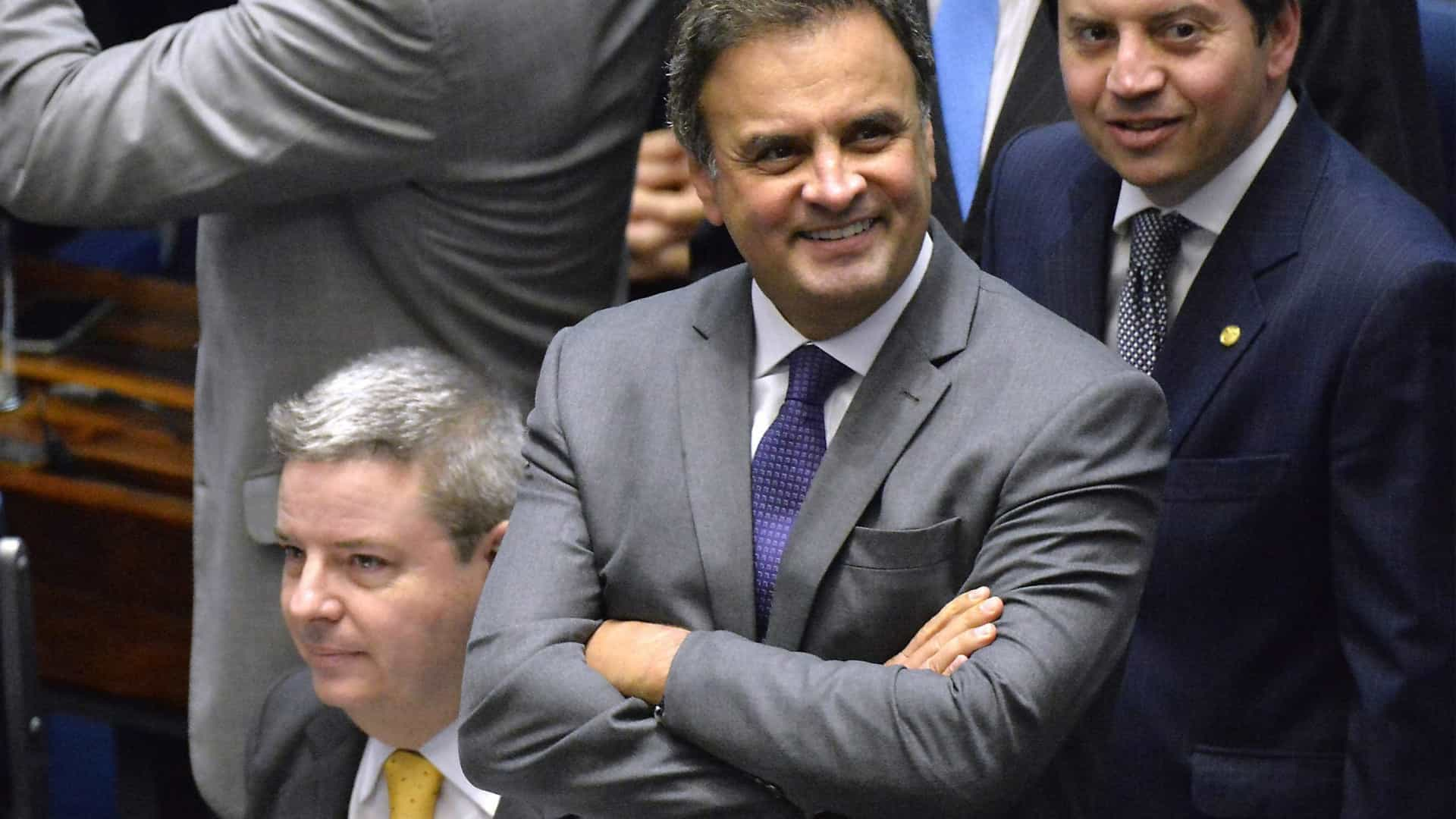 Juiz do Supremo Tribunal Federal negou pedido de prisão de Aécio Neves