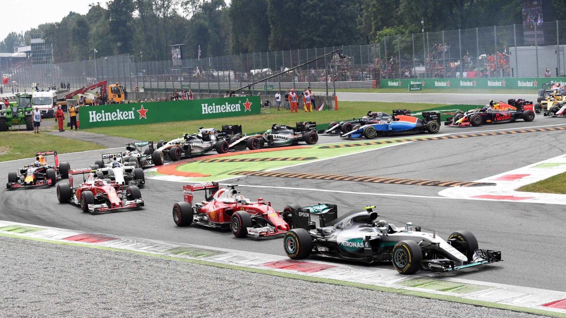 Grande Prémio de Itália mantém-se na Fórmula 1 por mais três anos