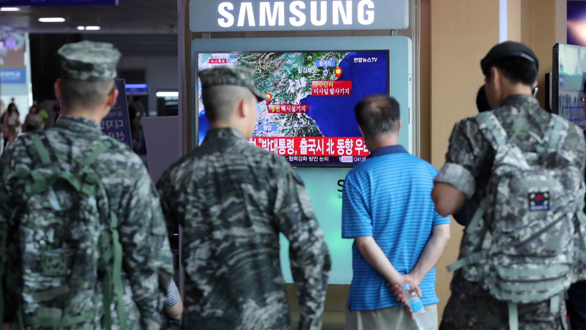 """Novo teste nuclear da Coreia do Norte """"foi o mais forte de sempre"""""""