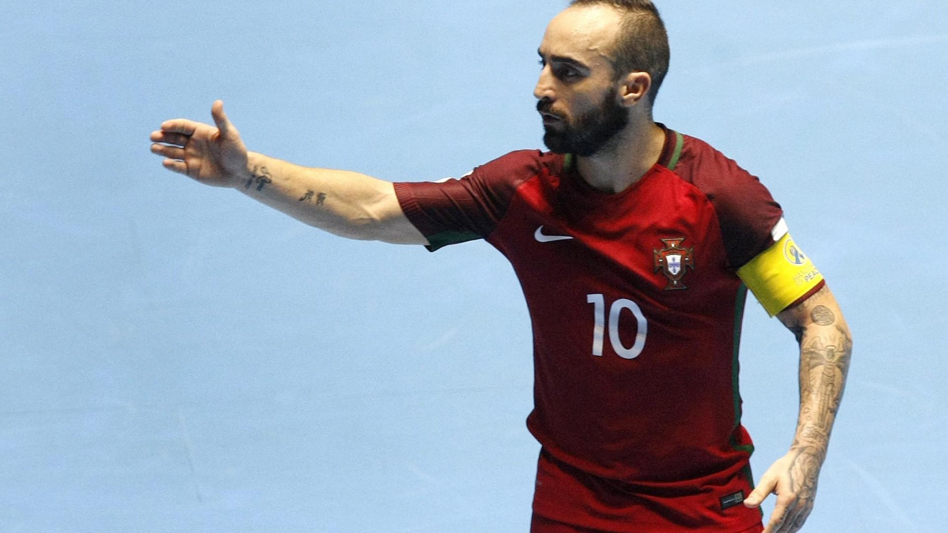 Seleção portuguesa de futsal vence Eslovénia por 6-4 em jogo particular