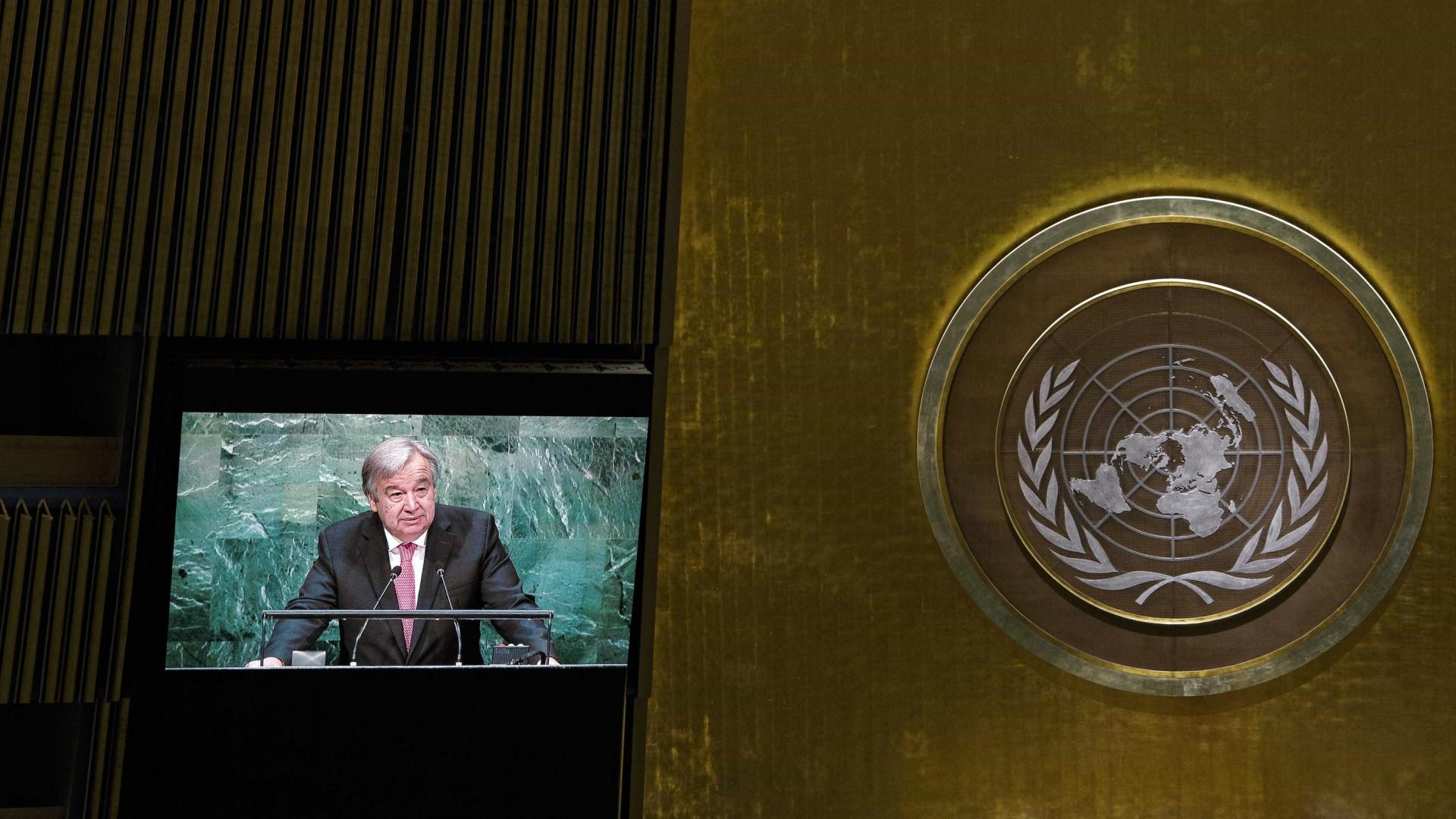 Guterres reúne-se com a Assembleia-geral da ONU. Todos podem falar