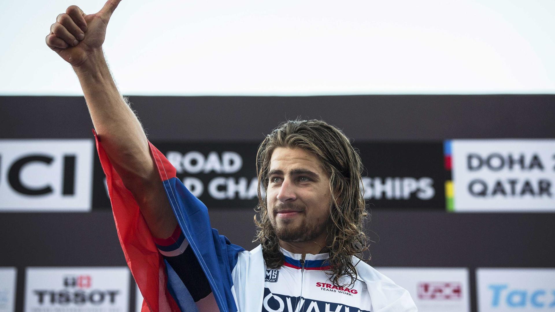 Peter Sagan premiado com 'Vélo d'Or'
