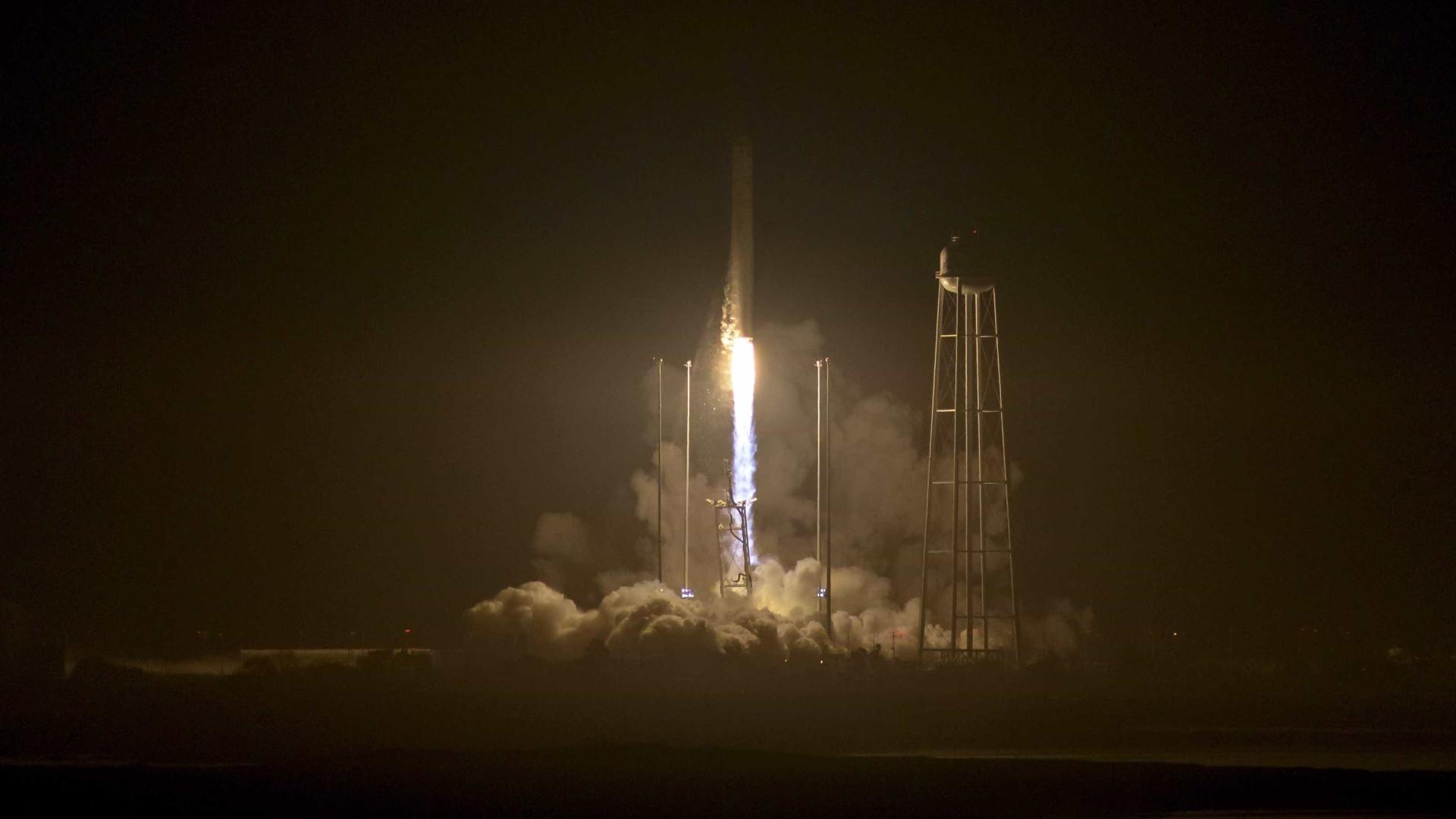 Lançada cápsula não tripulada para abastecimento da Estação Espacial