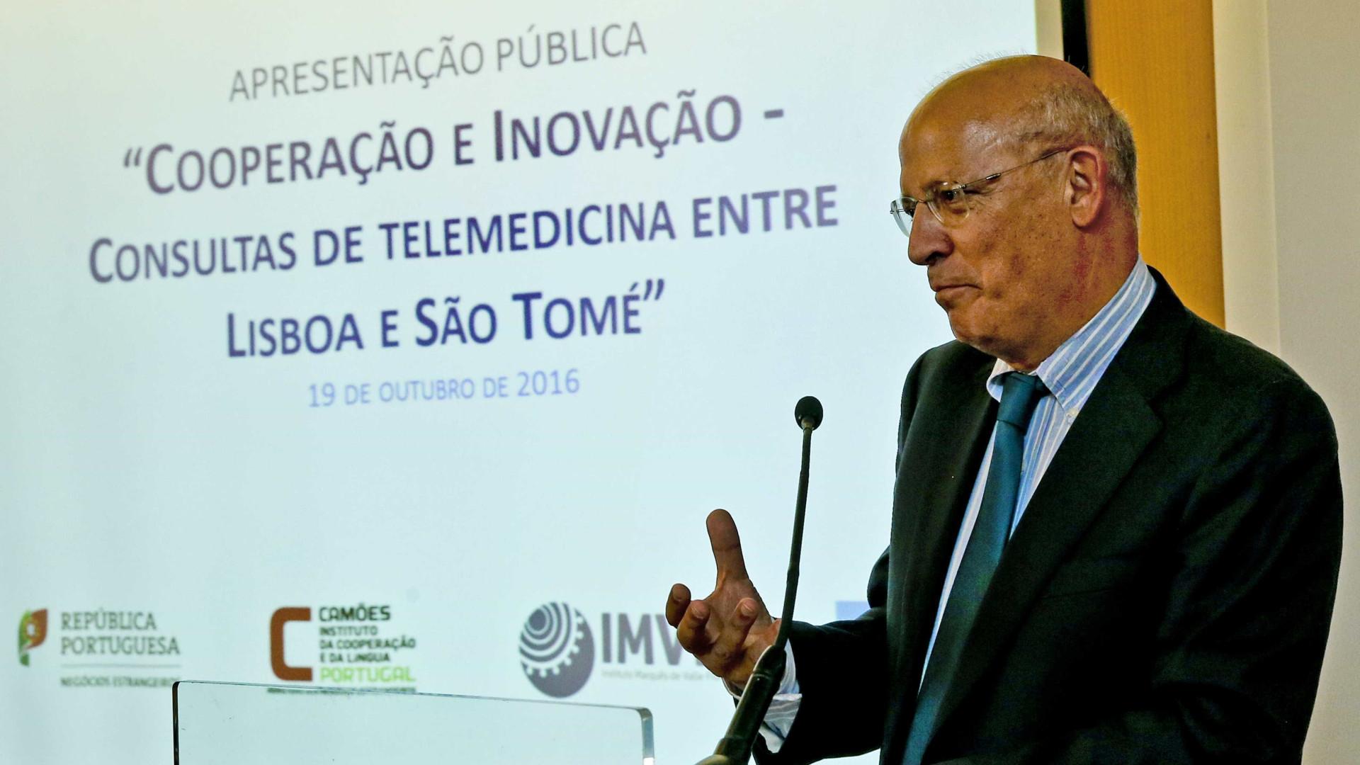 """Cooperação portuguesa terá """"reforço considerável"""" nos próximos anos"""
