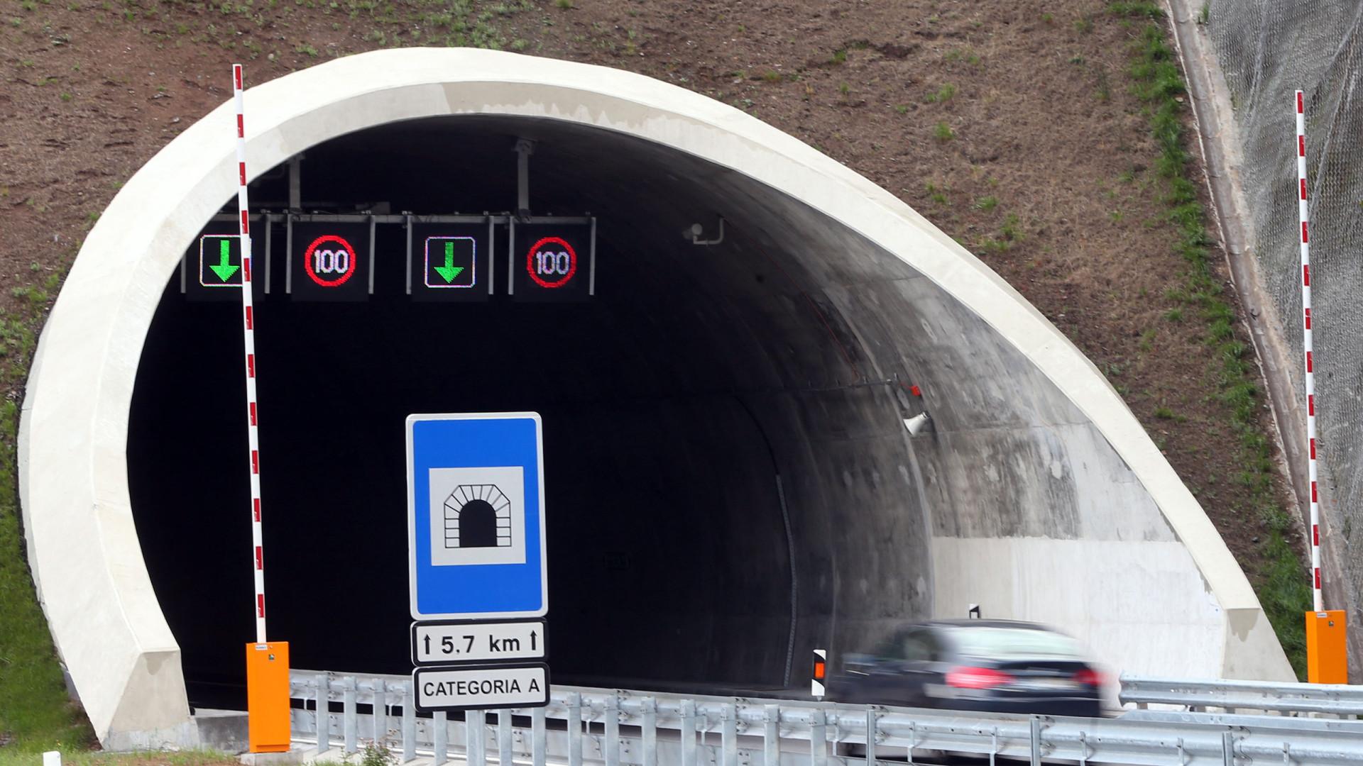 """Sistemas de segurança """"funcionaram eficazmente"""" no Túnel do Marão"""
