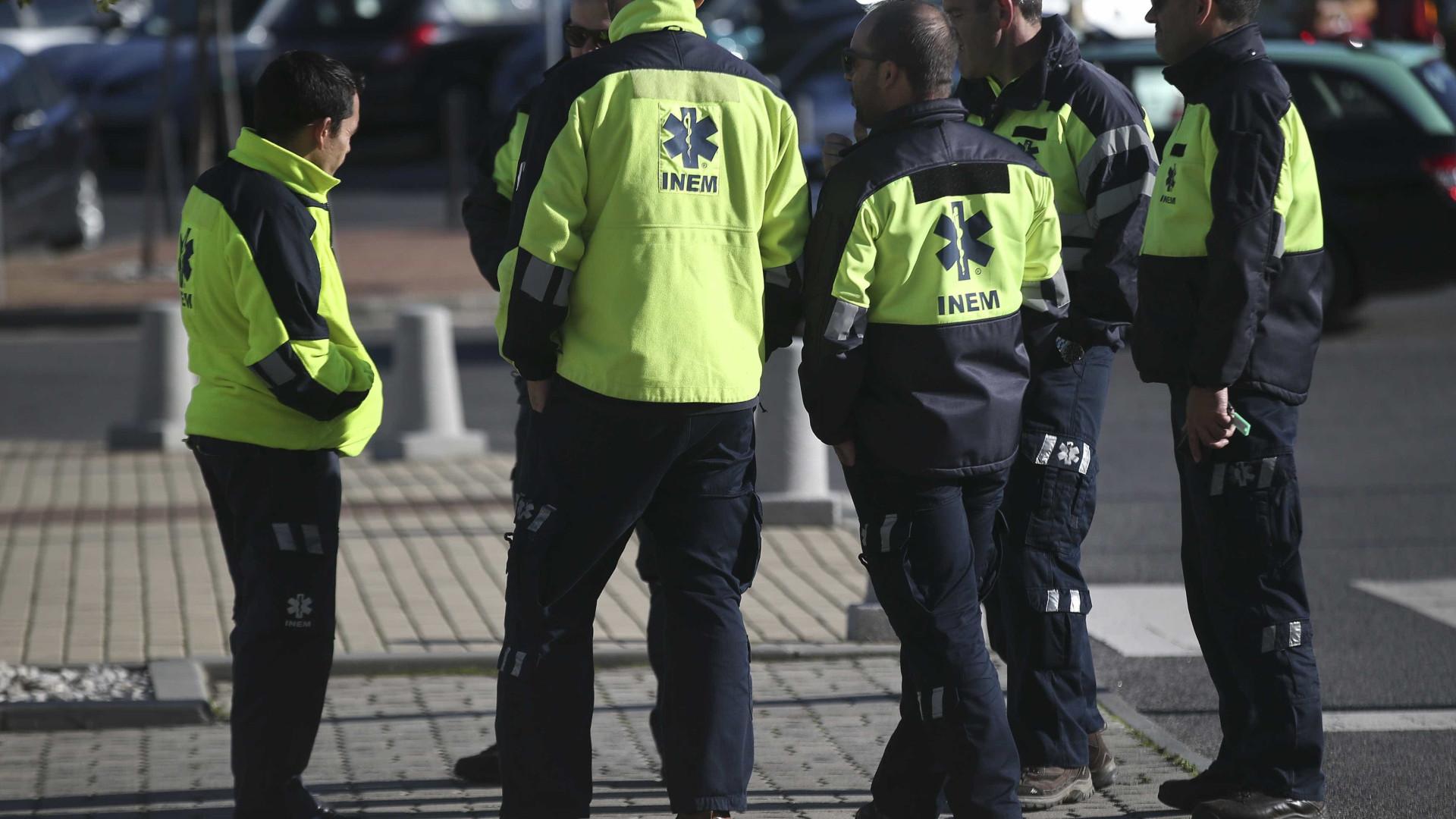 Suspensas buscas de jovem desaparecido em açude de Coruche