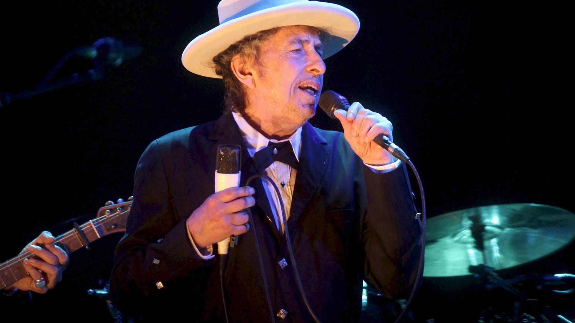 Nobel da Literatura cantou para 13 mil pessoas em Lisboa 50 anos de hits