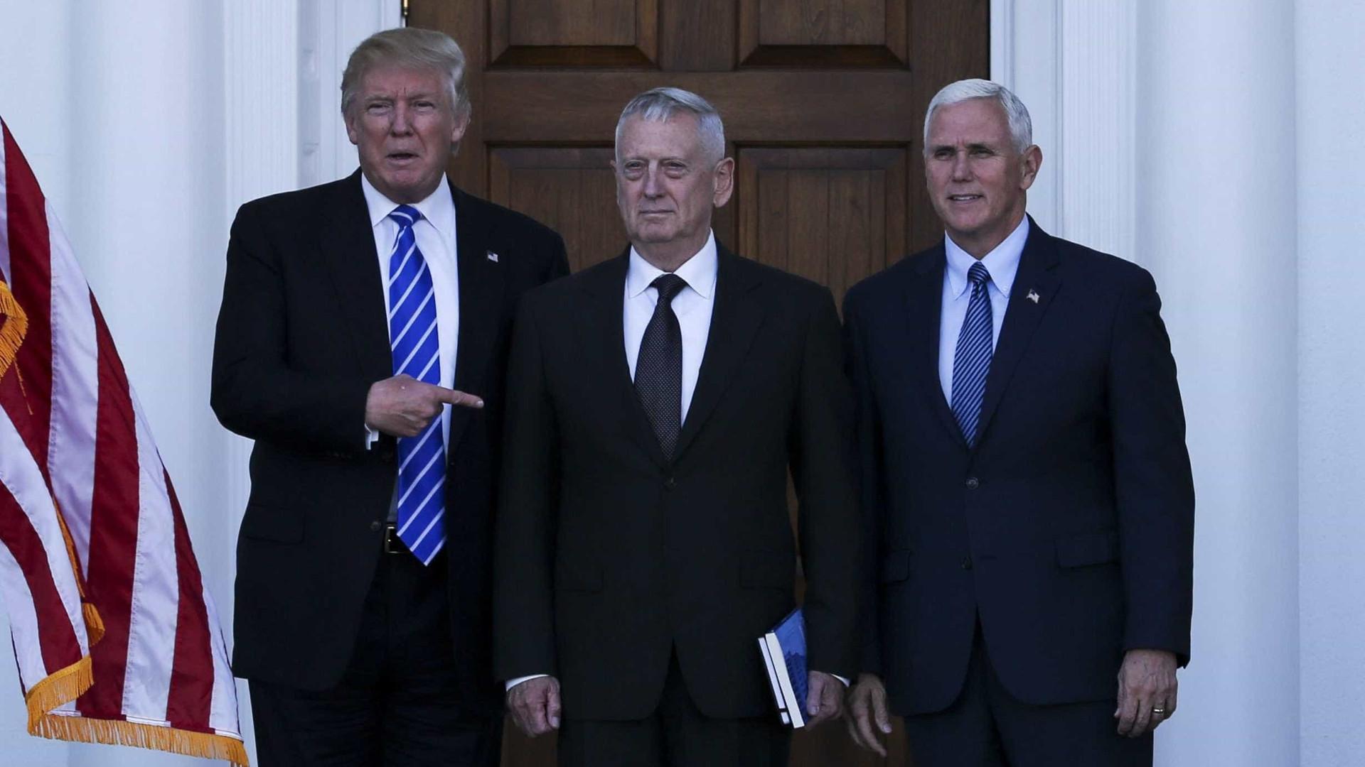 Trump anuncia nomeação de general James Mattis para a Defesa