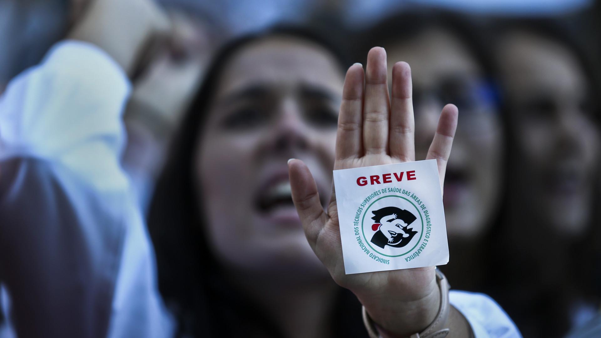 Técnicos de diagnóstico iniciam primeiro de dois dias de greve nacional