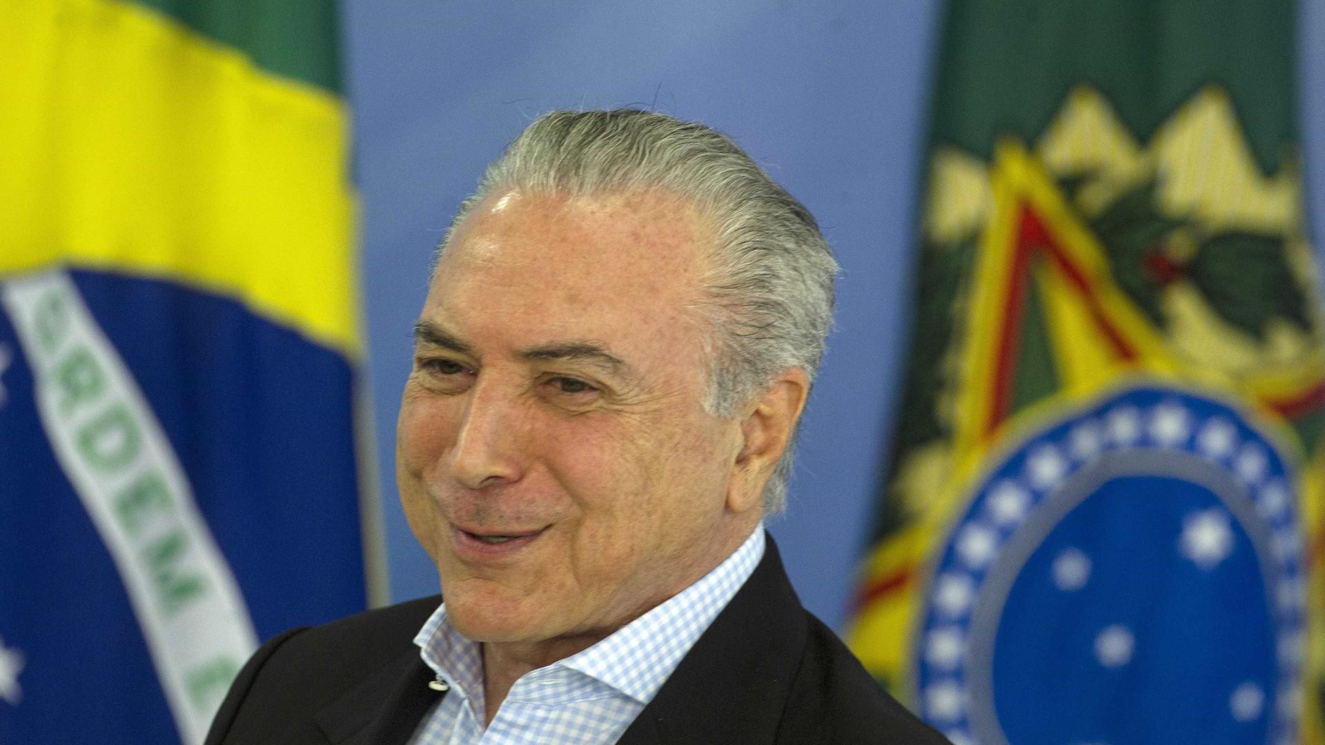 Brasil: PSOL apresenta pedido de 'impeachment' a Michel Temer