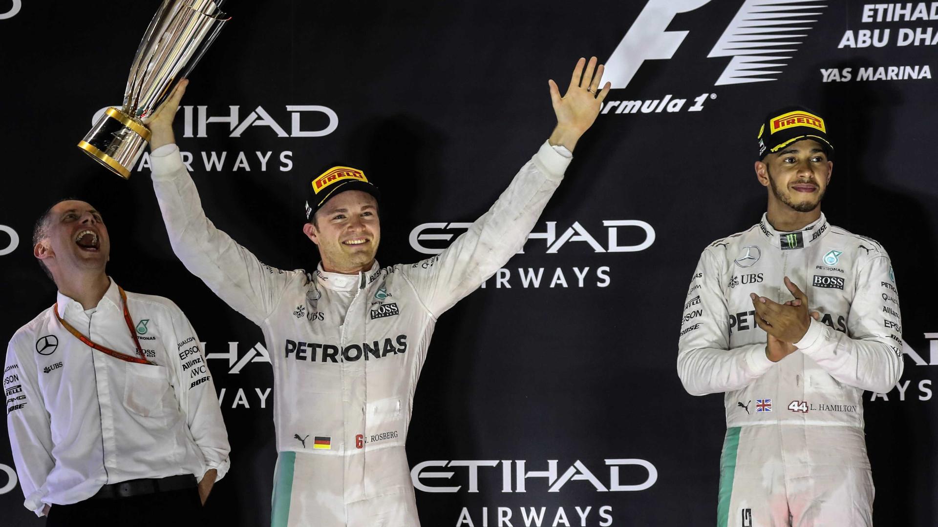 Nico Rosberg admite relação conturbada com Lewis Hamilton