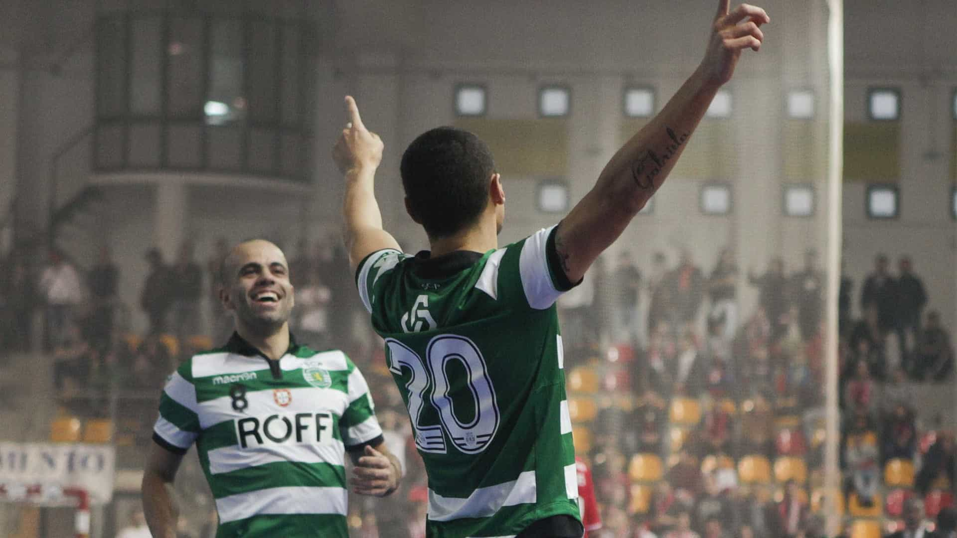 Futsal: Sporting vence o 1.º jogo da final do play-off