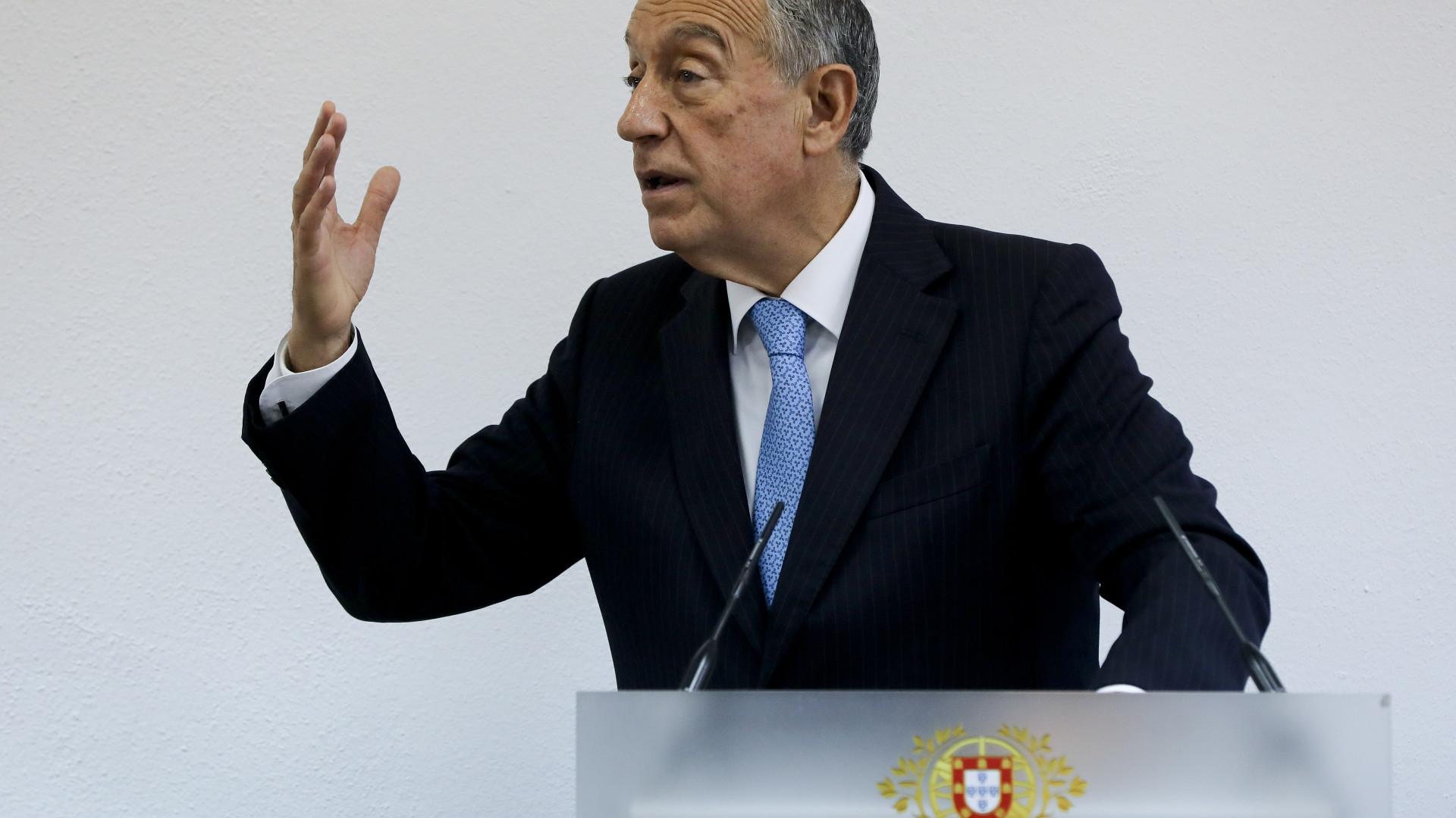 Marcelo começa hoje a ouvir partidos sobre próximo Orçamento do Estado