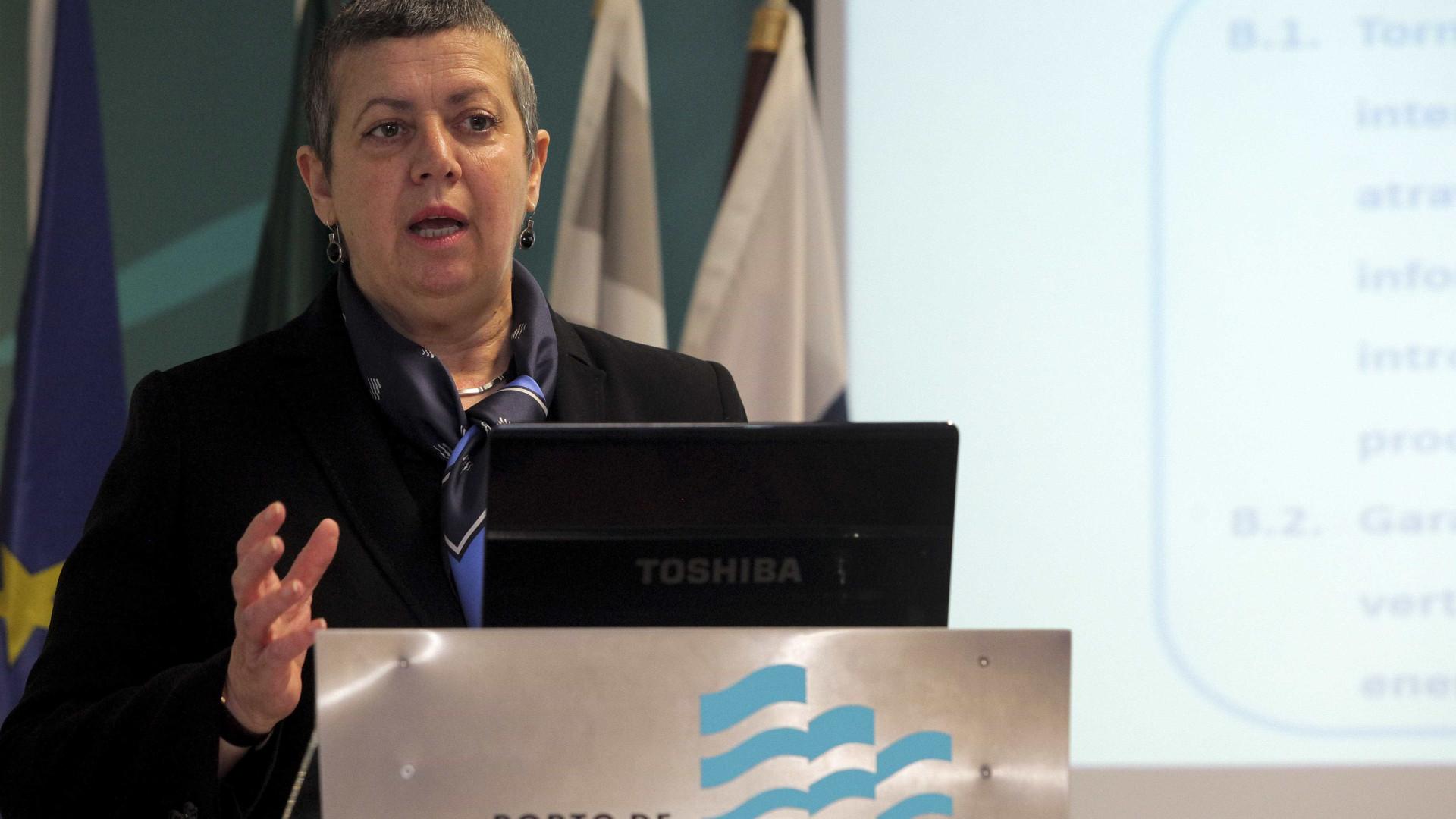 Ministra do Mar diz que porto de Setúbal vai ter crescimento de 60%