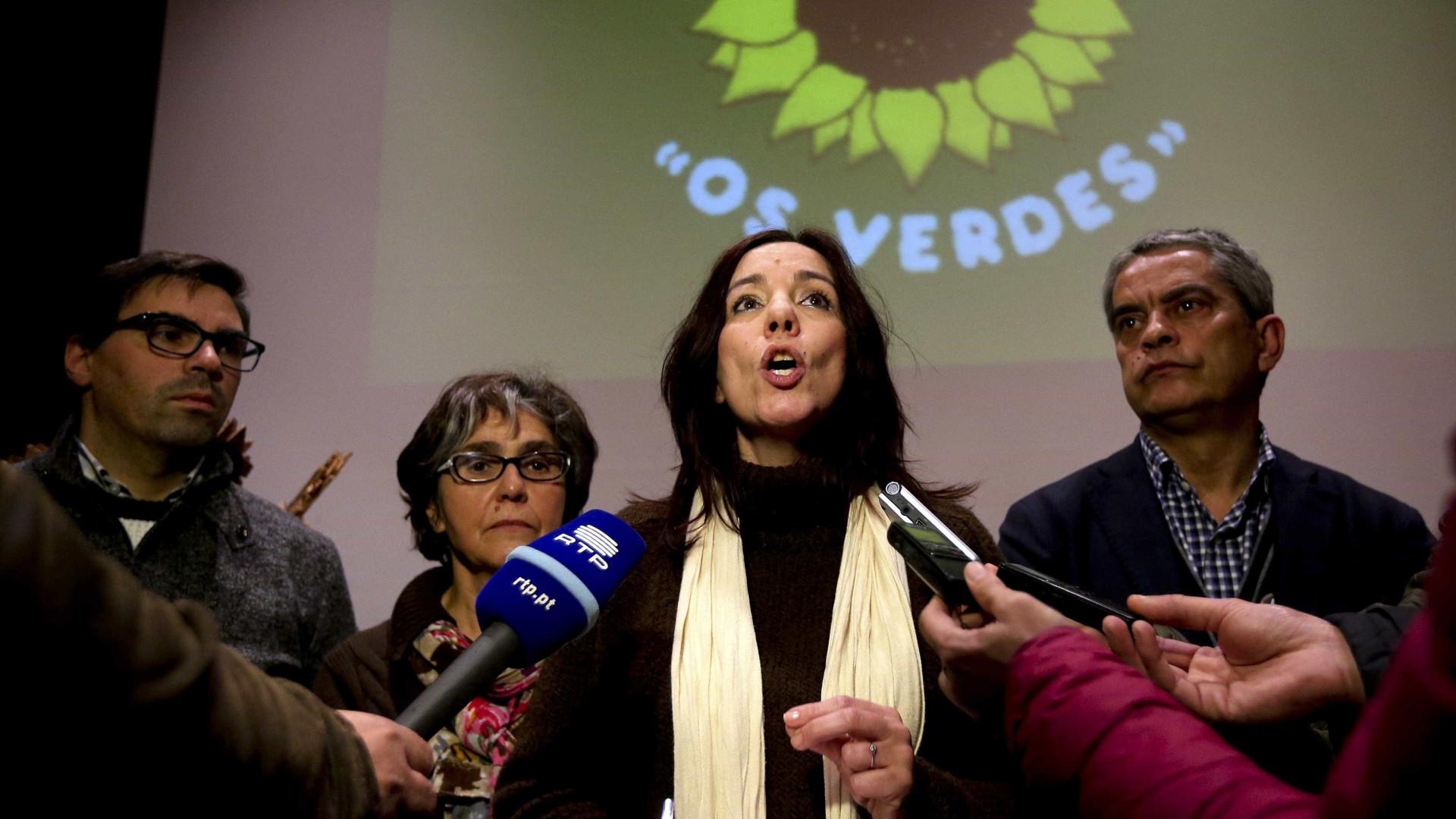 Heloísa Apolónia é a candidata da CDU a Oeiras