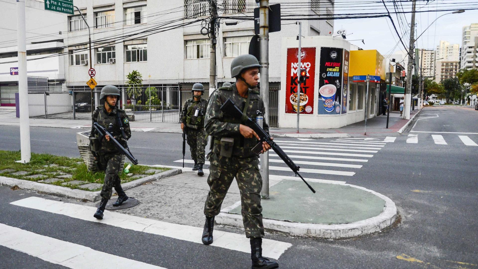Espírito Santo: Clima de insegurança mantém-se mesmo com militares na rua