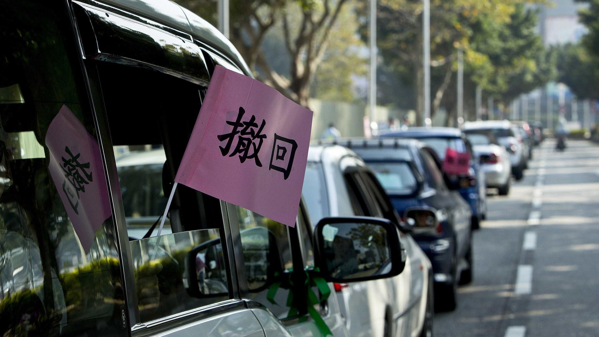 Uber suspensa em Macau