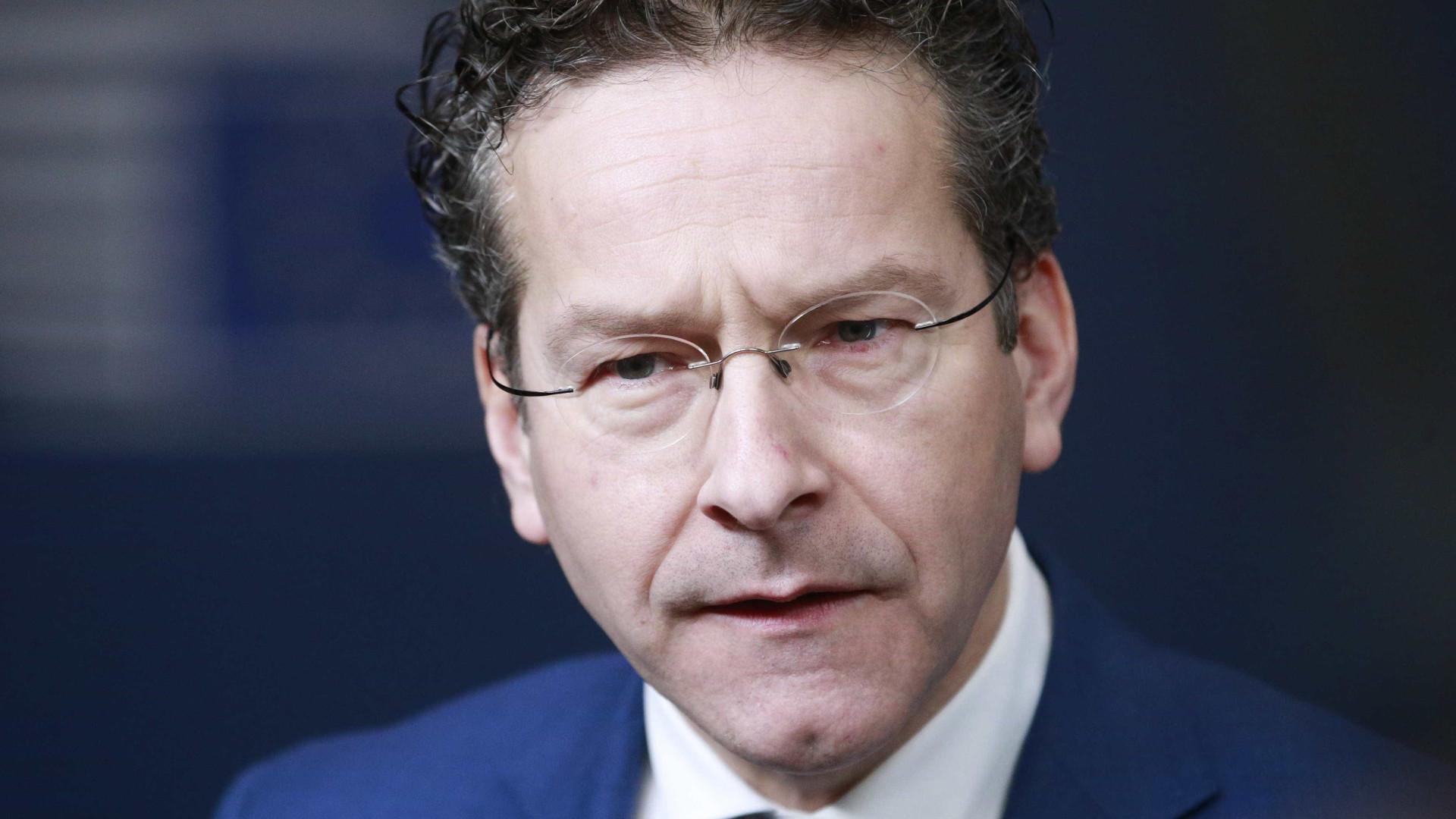 Eurogrupo reúne-se em Bruxelas com dúvidas sobre futuro de Dijsselbloem