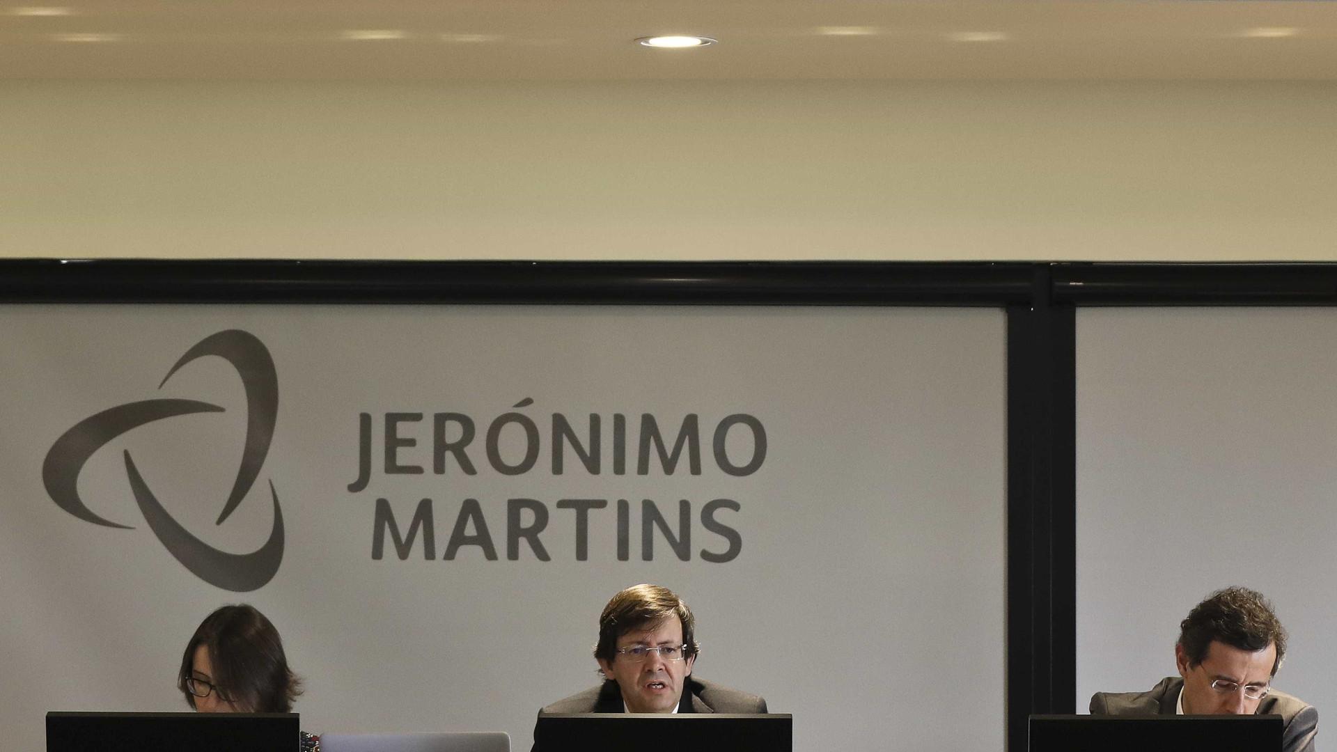 Lucro da Jerónimo Martins sobe 0,4% no 1.º trimestre para 78 milhões