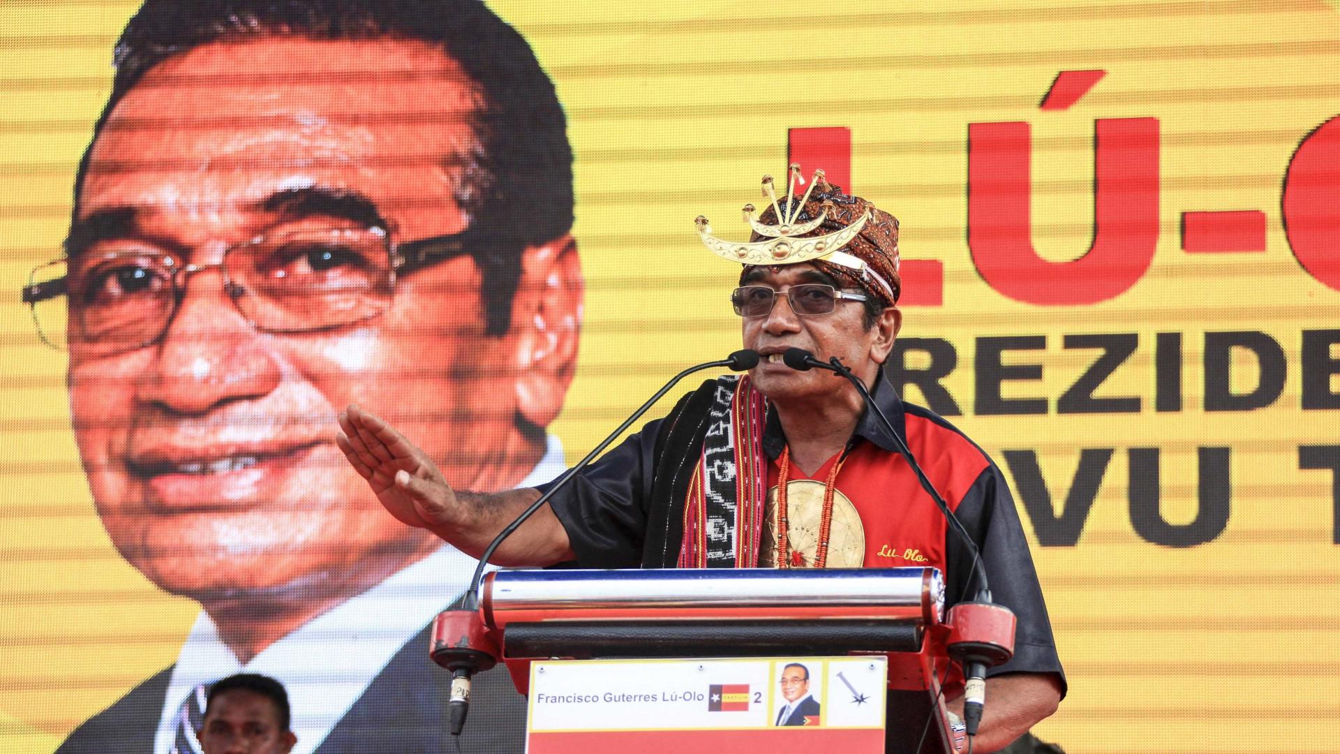 Francisco Guterres Lu-Olo é o novo Presidente de Timor-Leste