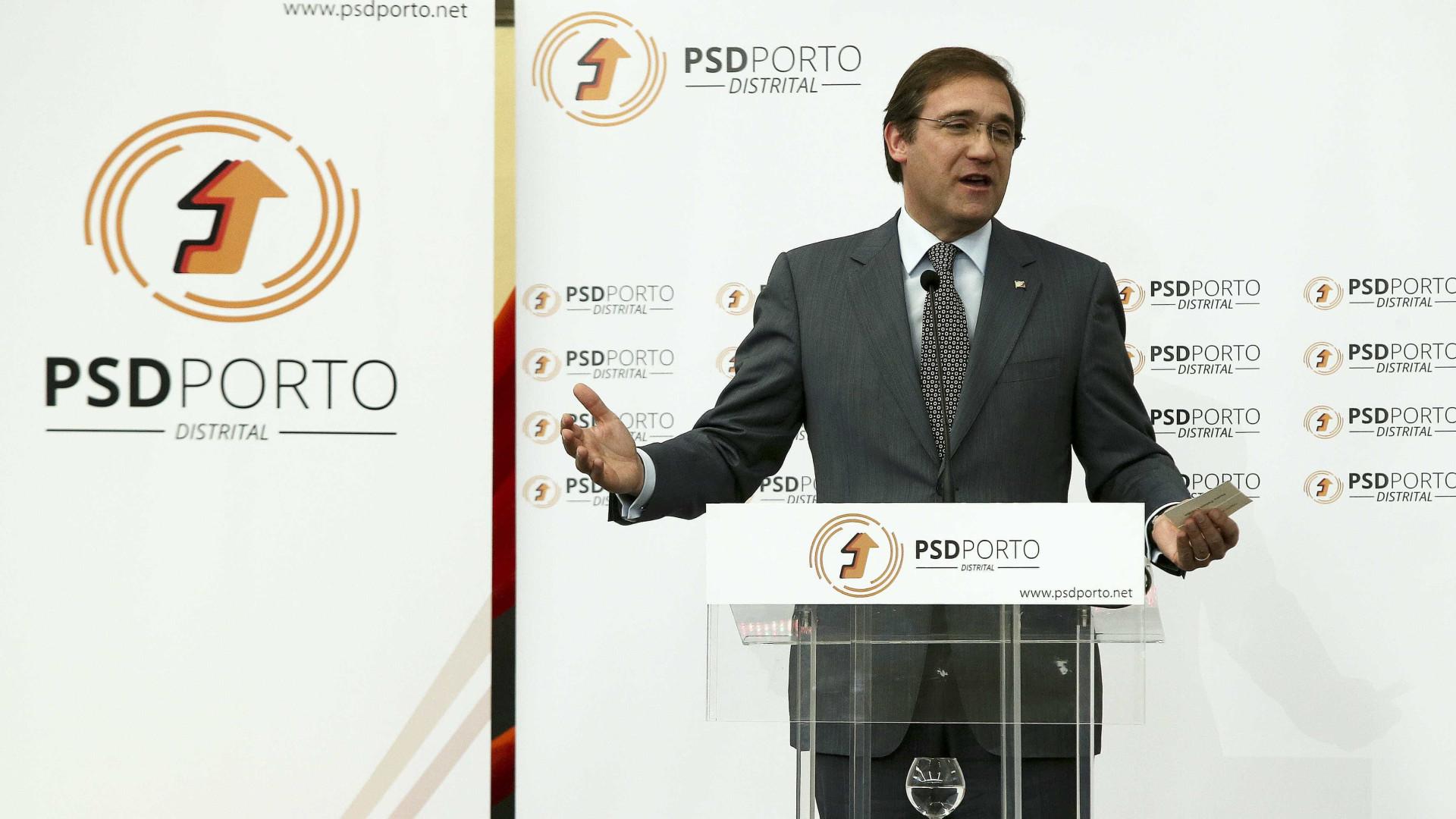 Autárquicas: PSD já fechou 99 coligações com o CDS-PP