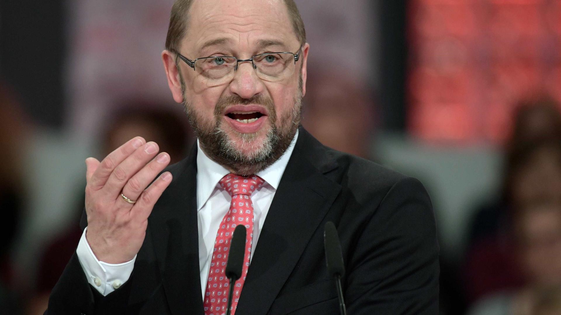Schulz eleito por unanimidade líder do Partido Social-Democrata alemão