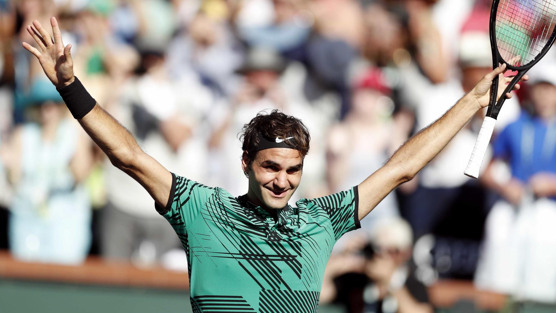 Federer bate Wawrinka e vence torneio de Indian Wells pela quinta vez