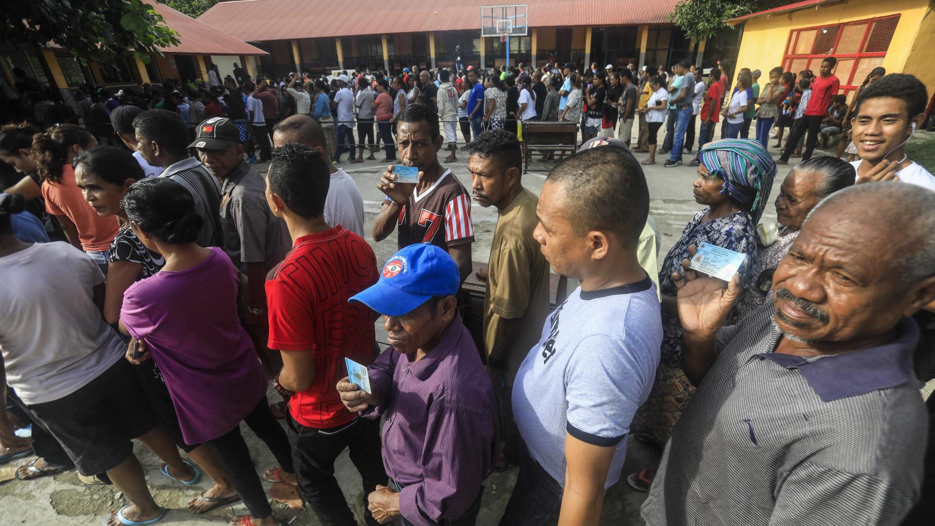Timor vai a votos. Favoritos na corrida presidencial fazem apelo