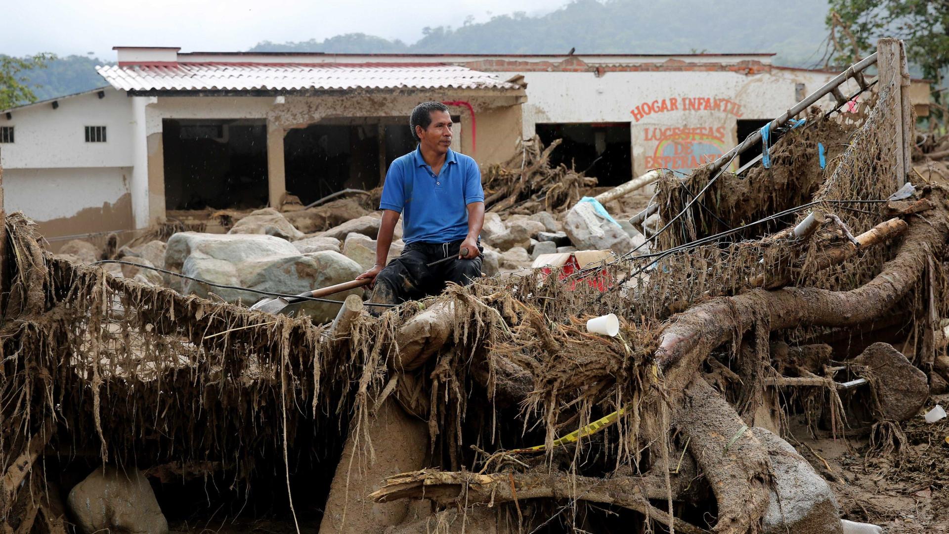 Mocoa: Número de mortos em deslizamentos de terras sobe para 254