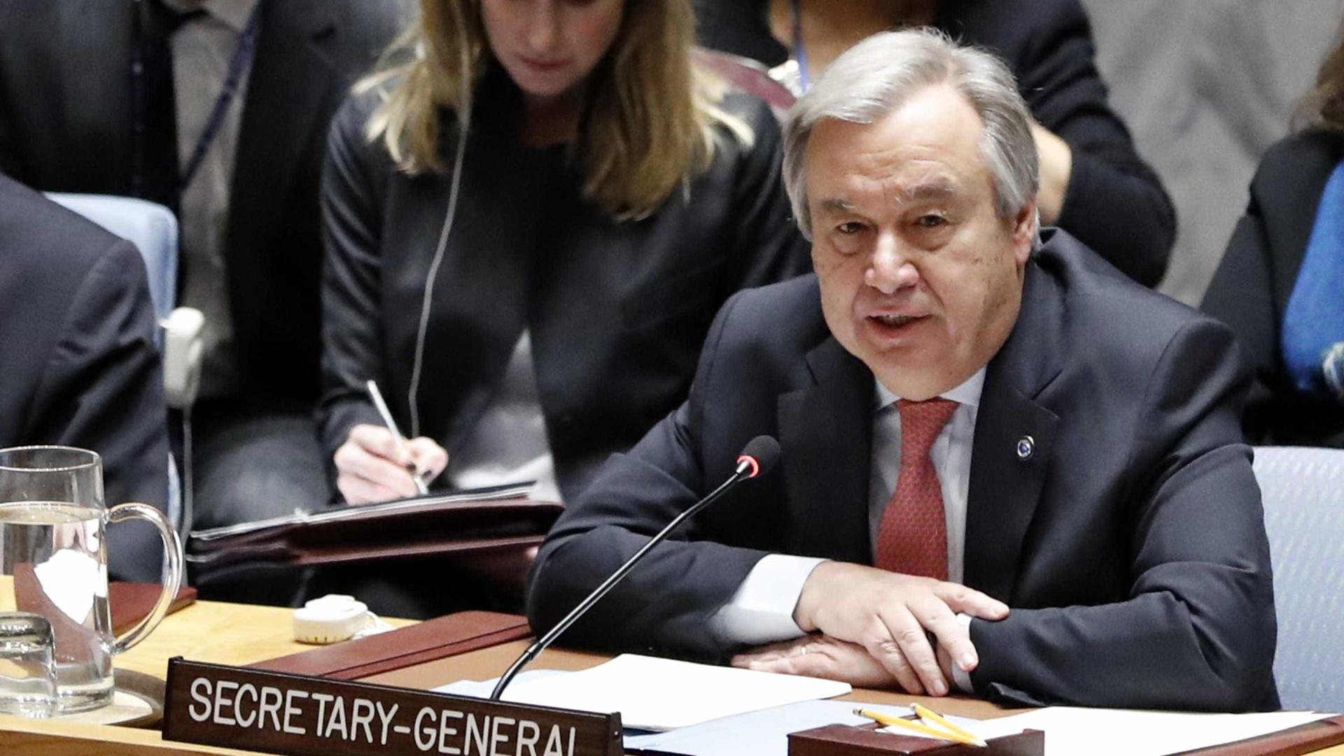 "Guterres pede ""gestos concretos"" para acabar com crise na Venezuela"