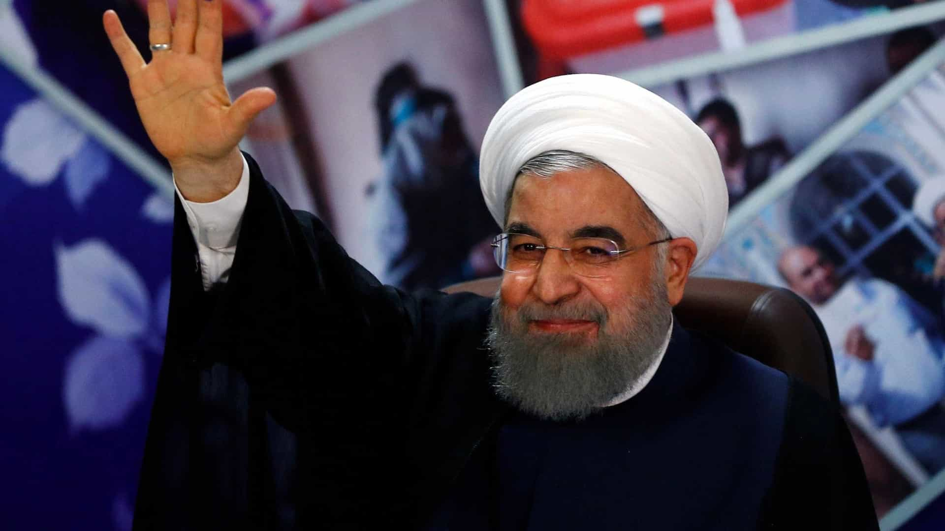 Rohani entre os seis candidatos às presidenciais do Irão