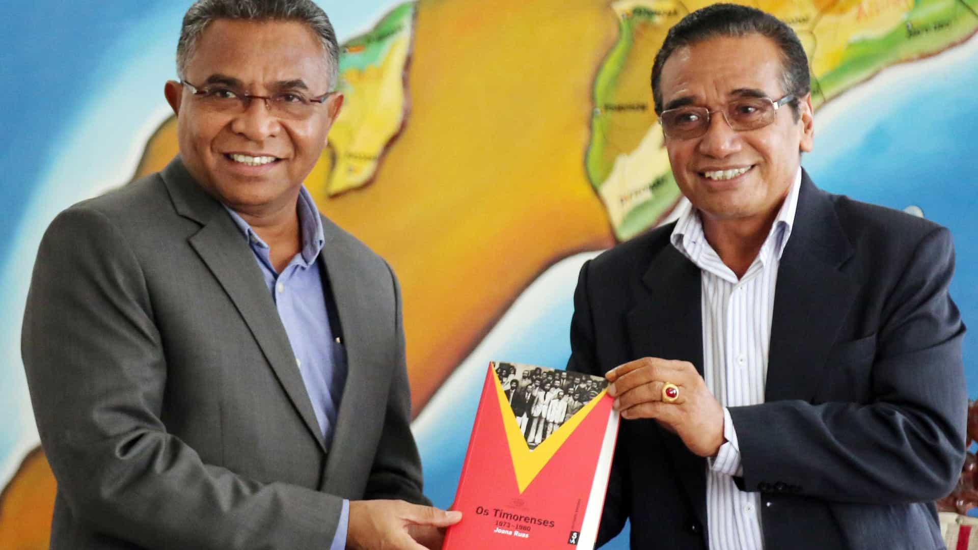 Francisco Guterres Lu-Olo tomou posse como 4º Presidente de Timor-Leste