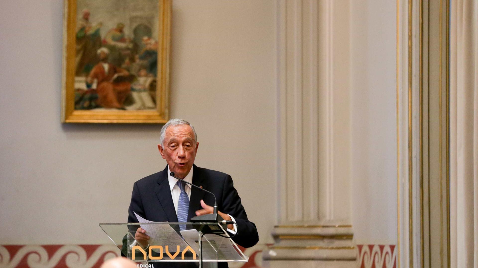 Marcelo saúda comunidade católica pela canonização de Francisco e Jacinta