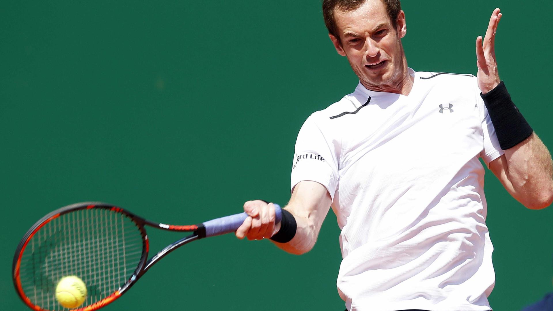 Murray eliminado por Ramos-Vinolas na terceira ronda em Monte Carlo