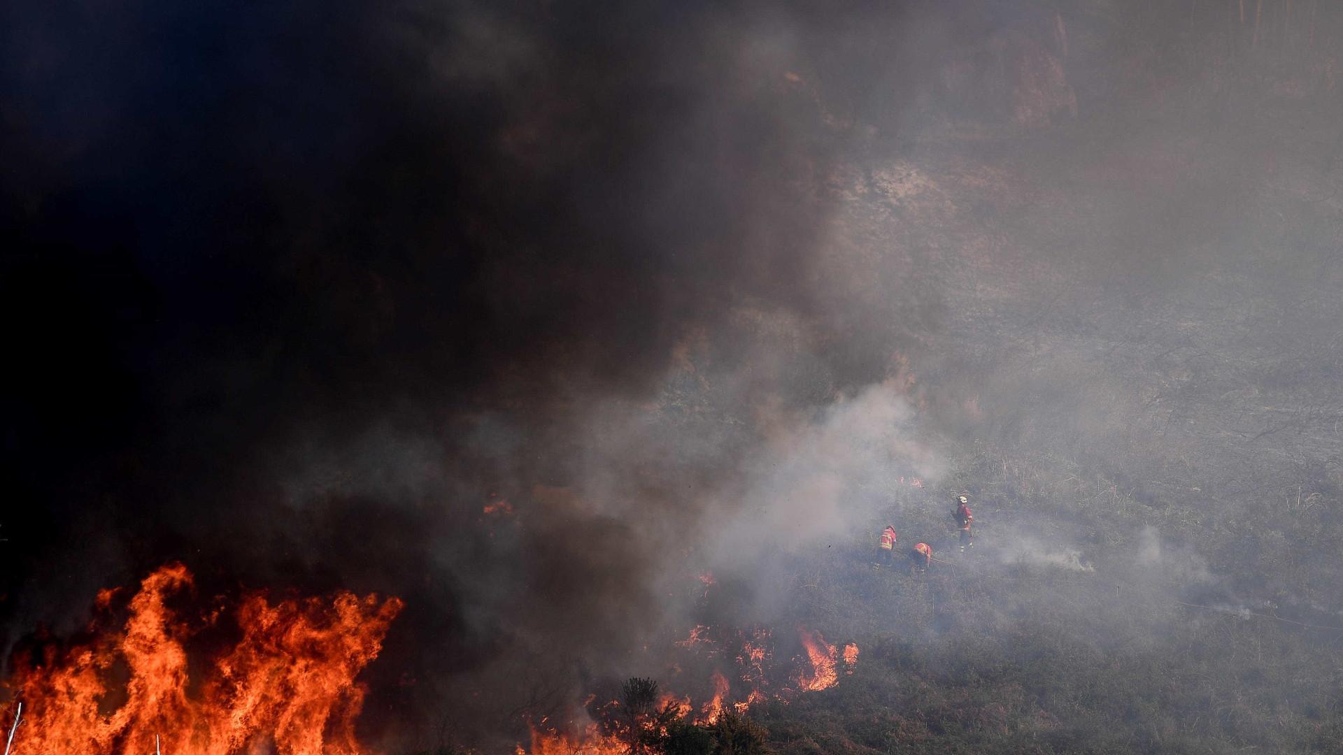 Oito incêndios no norte do país mobilizam 261 operacionais
