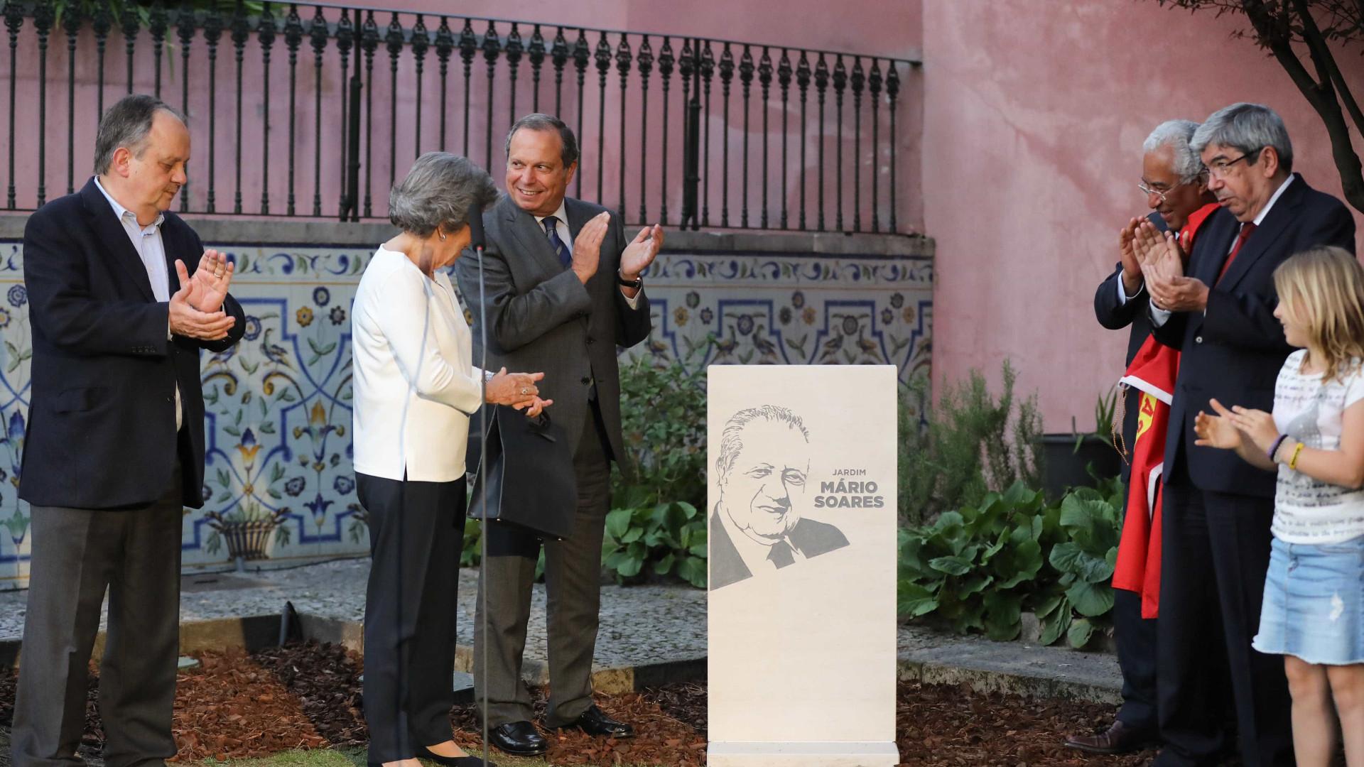 Costa evoca o amor de Mário Soares pela liberdade e pelas árvores