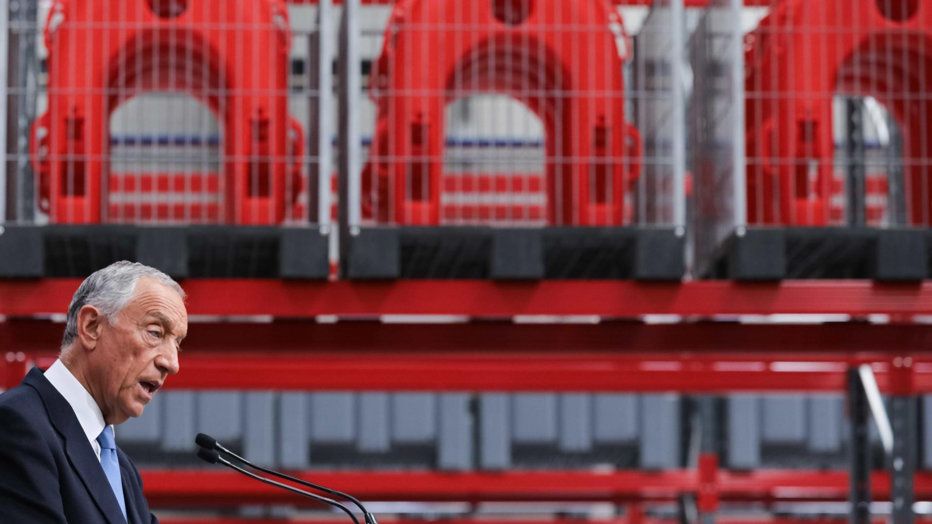 Marcelo quer país a pensar nas próximas décadas, não em ciclos eleitorais