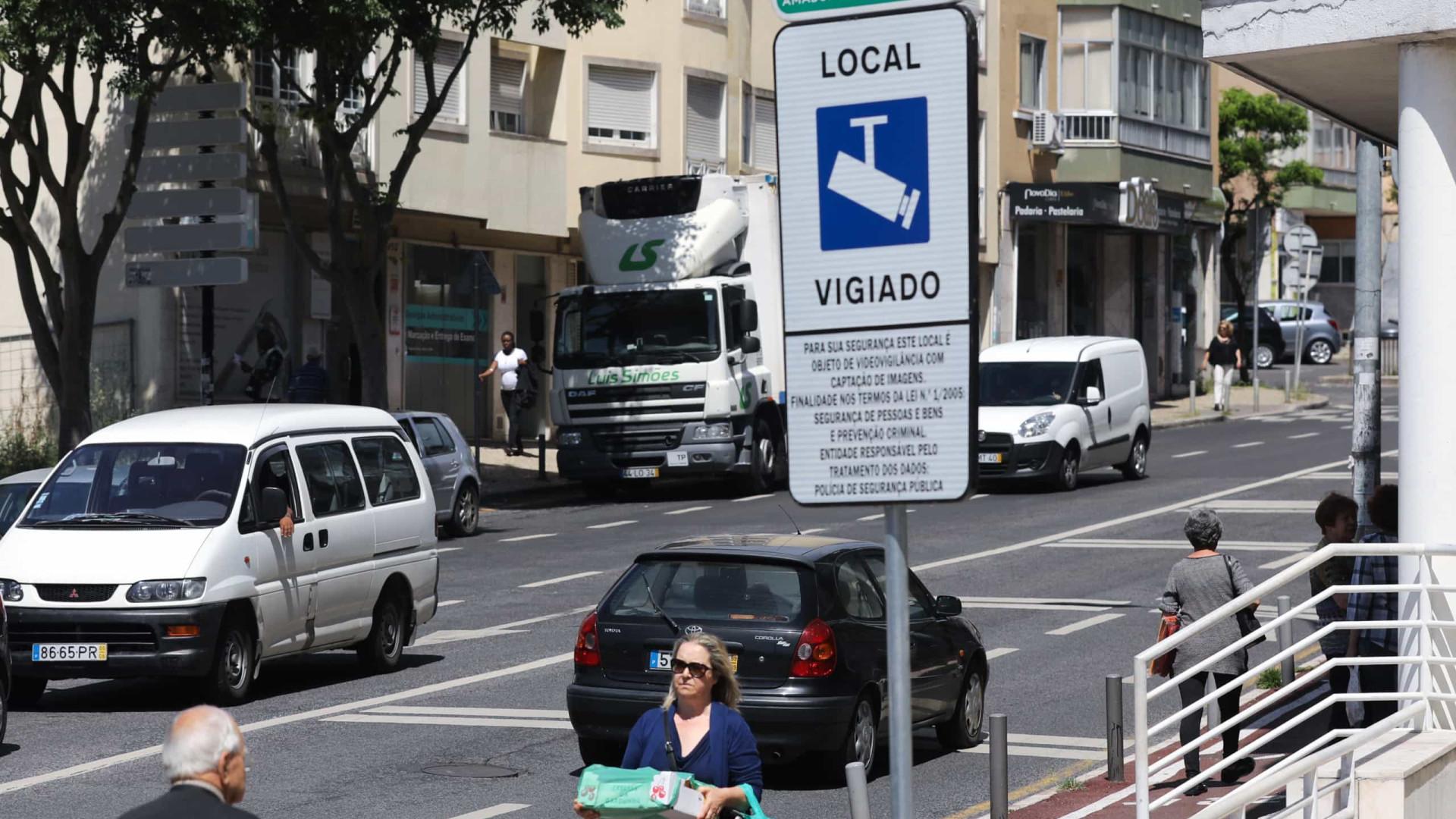 Comerciantes e moradores da Amadora satisfeitos com a videovigilância
