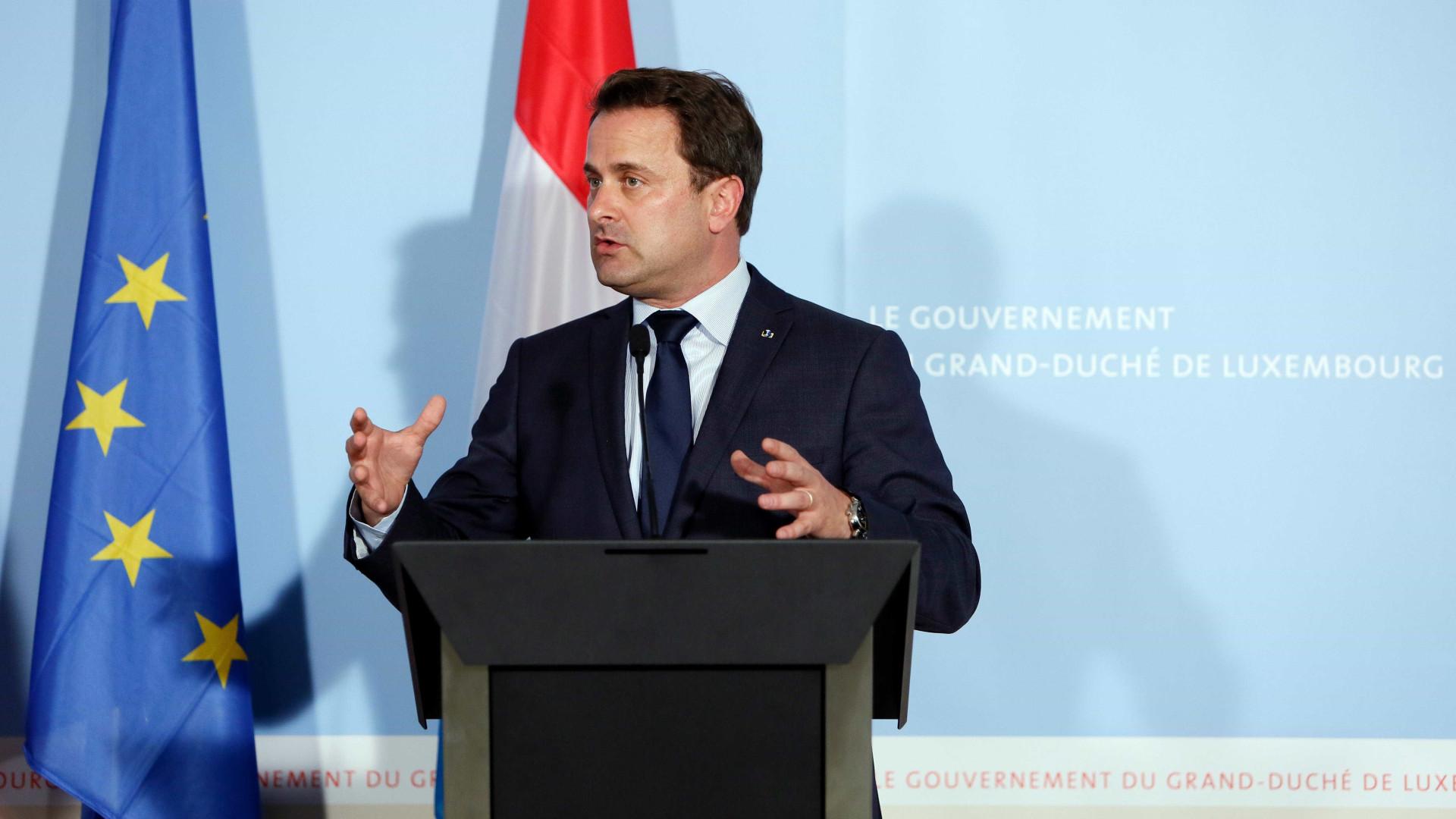 """Luxemburgo """"pronto a ajudar os seus amigos portugueses"""""""