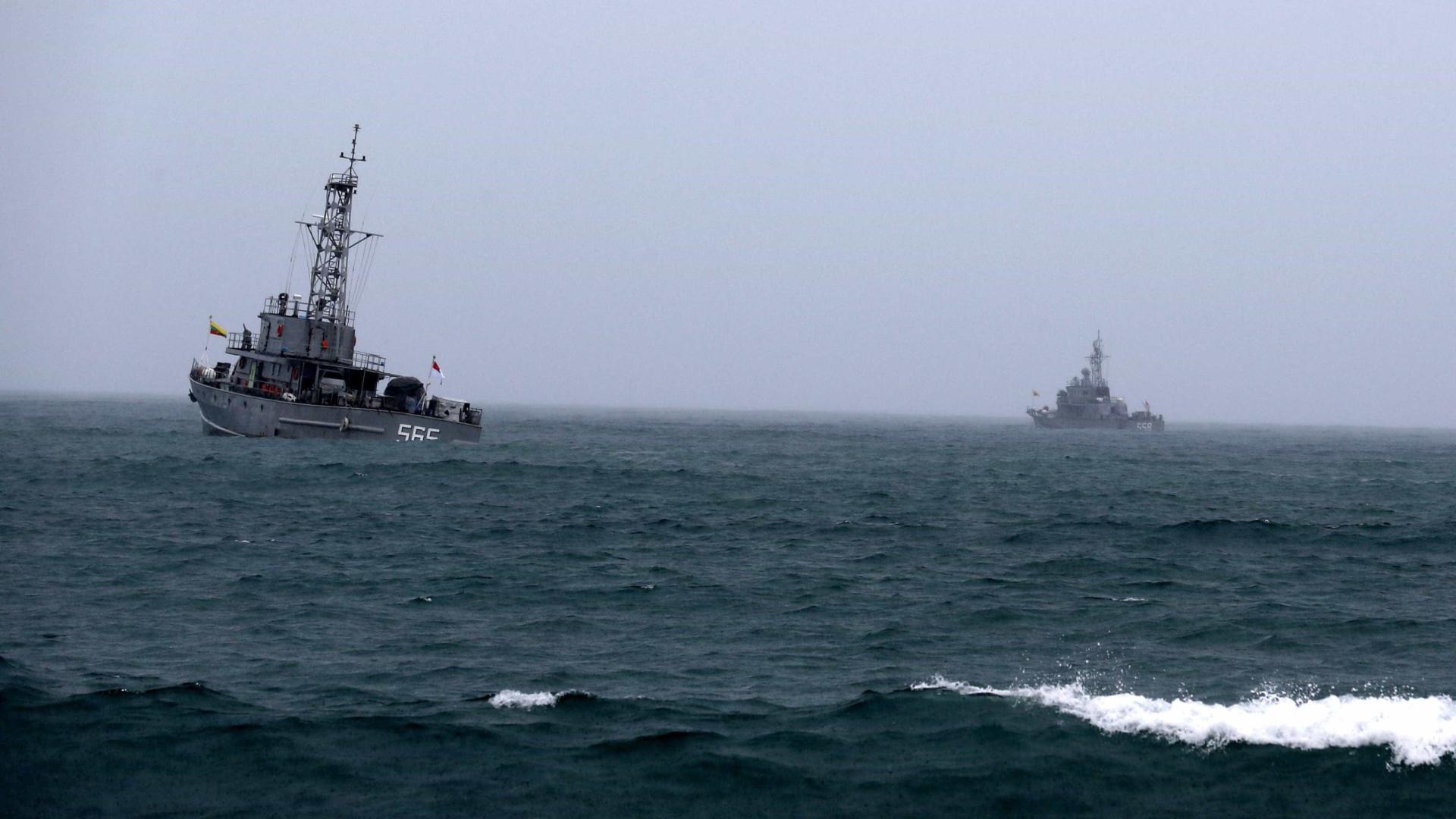 Recuperada caixa negra de avião militar birmanês que se despenhou no mar